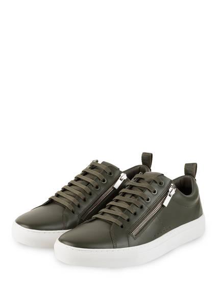 HUGO Sneaker FUTURISM TENNIS, Farbe: DUNKELGRÜN (Bild 1)