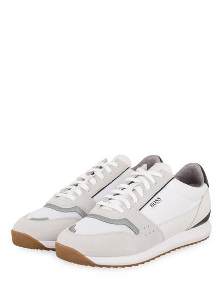 BOSS Sneaker SONIC RUNN ITMX, Farbe: WEISS/ HELLGRAU (Bild 1)