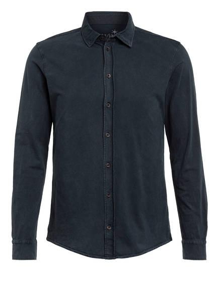 Juvia Jersey-Hemd Slim Fit, Farbe: DUNKELBLAU (Bild 1)