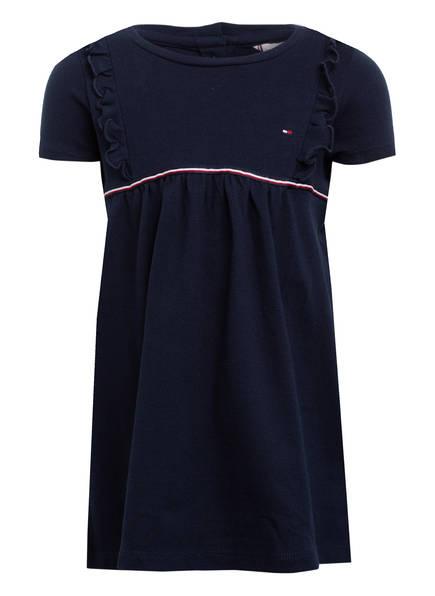TOMMY HILFIGER Piqué-Kleid, Farbe: DUNKELBLAU (Bild 1)