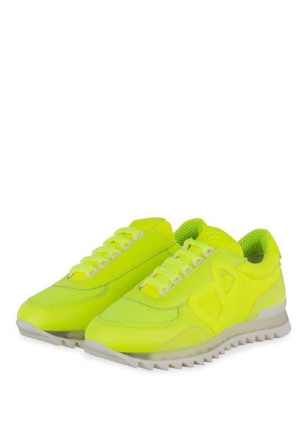 BOGNER Plateau-Sneaker SEATTLE L1, Farbe: NEON GELB (Bild 1)