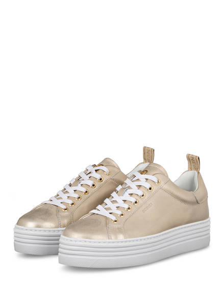 BOGNER Plateau-Sneaker ORLANDO, Farbe: GOLD (Bild 1)
