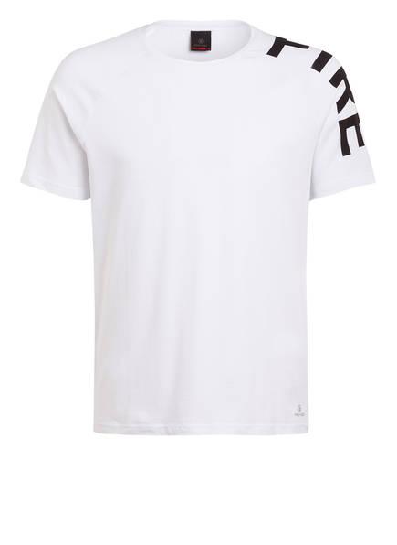 FIRE+ICE T-Shirt AKIM, Farbe: WEISS/ SCHWARZ (Bild 1)
