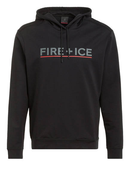 FIRE+ICE Hoodie CALLUM, Farbe: SCHWARZ (Bild 1)
