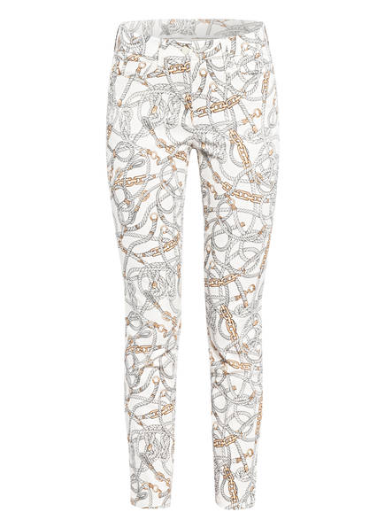 CAMBIO Skinny Jeans PARLA , Farbe: WEISS/ GRAU/ BRAUN (Bild 1)