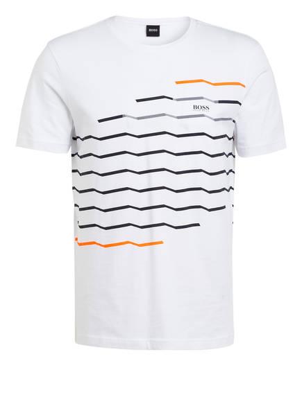 BOSS T-Shirt TEE 13, Farbe: WEISS/ SCHWARZ (Bild 1)