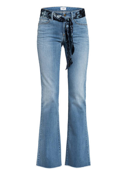 CAMBIO Flared Jeans PARLA, Farbe: 5285 LIVELY OCEAN BLUE (Bild 1)