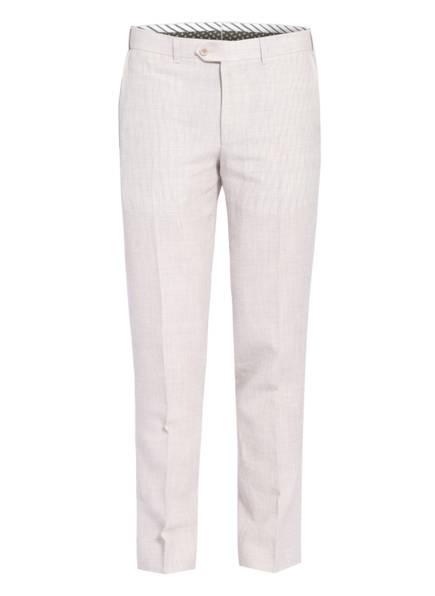 EDUARD DRESSLER Anzughose Shaped Fit mit Leinen , Farbe: 070 BEIGE (Bild 1)