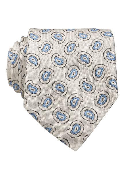EDUARD DRESSLER Krawatte , Farbe: HELLGRAU/ HELLBLAU/ SCHWARZ (Bild 1)