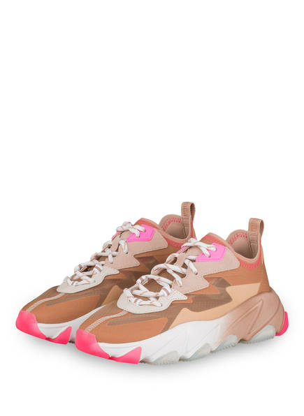 ash Plateau-Sneaker ECLIPSE , Farbe: BRAUN/ NUDE (Bild 1)