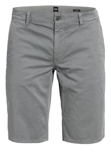 BOSS Chino-Shorts SCHINO Regular Fit, Farbe: GRAU (Bild 1)