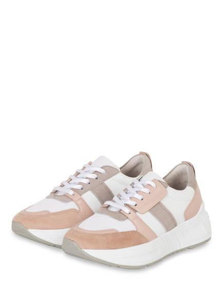 KENNEL & SCHMENGER Plateau-Sneaker MATRIX, Farbe: WEISS/ NUDE (Bild 1)
