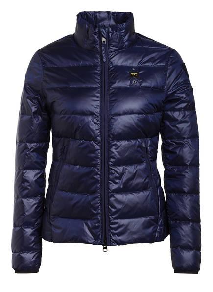 Blauer Lightweight-Daunenjacke, Farbe: DUNKELBLAU (Bild 1)