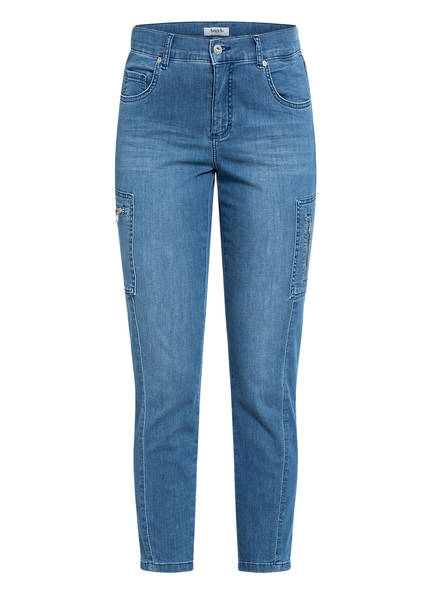 ANGELS 7/8-Jeans ORNELLA CARGO Slim Fit , Farbe: 3458 light blue used (Bild 1)
