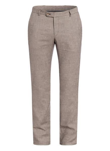 BENVENUTO Kombi-Hose VARI Slim Fit, Farbe: BRAUN/ WEISS (Bild 1)
