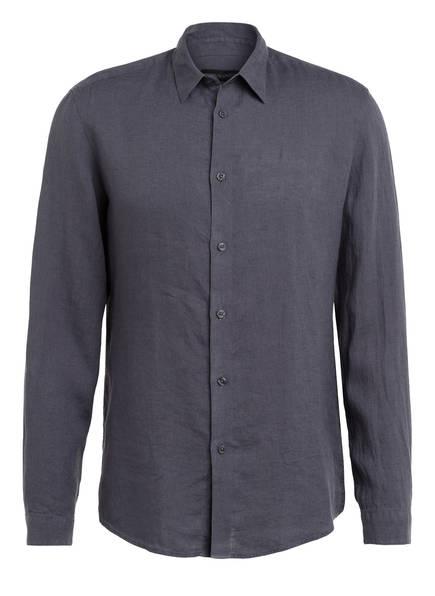 DRYKORN Leinenhemd RUBEN Slim Fit, Farbe: DUNKELGRAU (Bild 1)