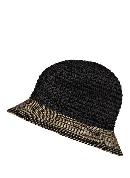 LOEVENICH Bucket-Hat, Farbe: DUNKELBRAUN/ CAMEL (Bild 1)