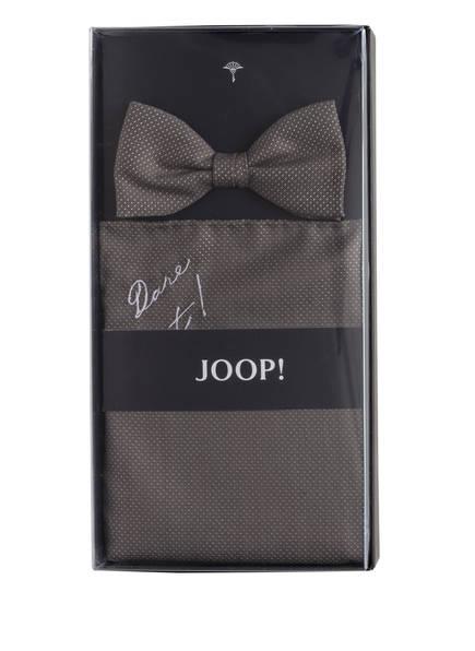 JOOP! Set: Fliege und Einstecktuch, Farbe: TAUPE (Bild 1)