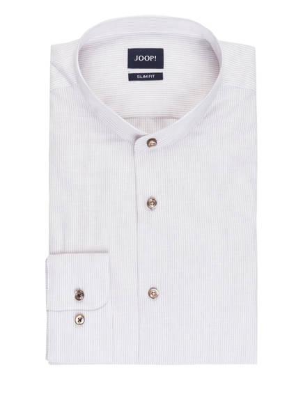 JOOP! Hemd PRYOR Slim Fit mit Stehkragen, Farbe: HELLBEIGE (Bild 1)