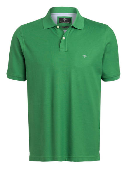 FYNCH-HATTON Piqué-Poloshirt, Farbe: GRÜN (Bild 1)