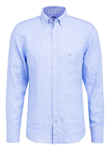 FYNCH-HATTON Leinenhemd Regular Fit , Farbe: HELLBLAU (Bild 1)