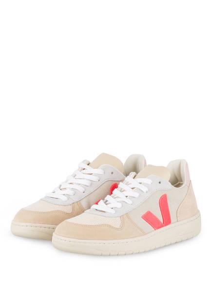 VEJA Sneaker V-10, Farbe: BEIGE/ HELLGRAU (Bild 1)