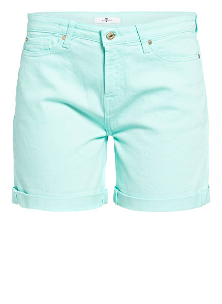 7 for all mankind Jeans-Shorts BOY, Farbe: MINT (Bild 1)