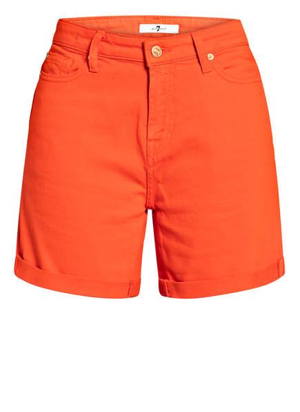7 for all mankind Jeans-Shorts, Farbe: ORANGE (Bild 1)