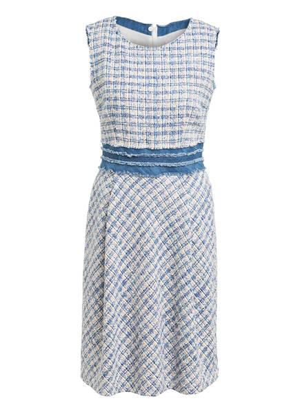 NVSCO Tweed-Kleid, Farbe: BLAU/ CREME (Bild 1)