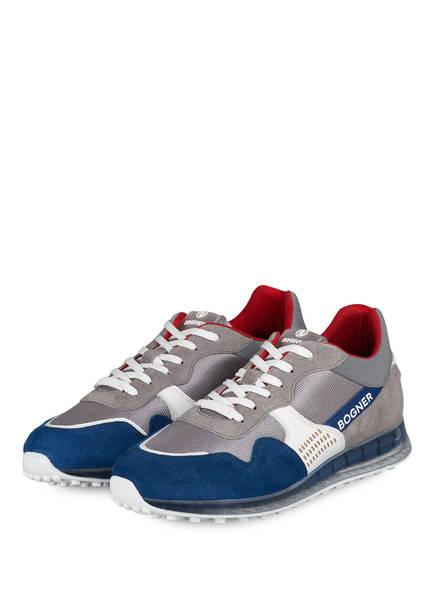 BOGNER Sneaker ESTORIL, Farbe: GRAU/ BLAU (Bild 1)