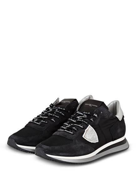 PHILIPPE MODEL Plateau-Sneaker TRPX, Farbe: SCHWARZ (Bild 1)