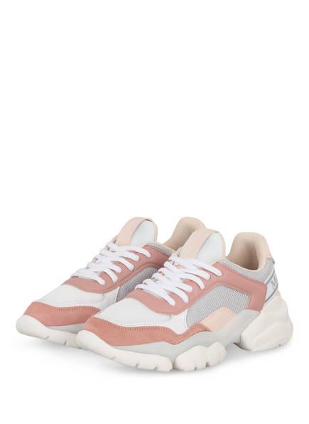 Marc O'Polo Plateau-Sneaker, Farbe: WEISS/ ROSÉ (Bild 1)