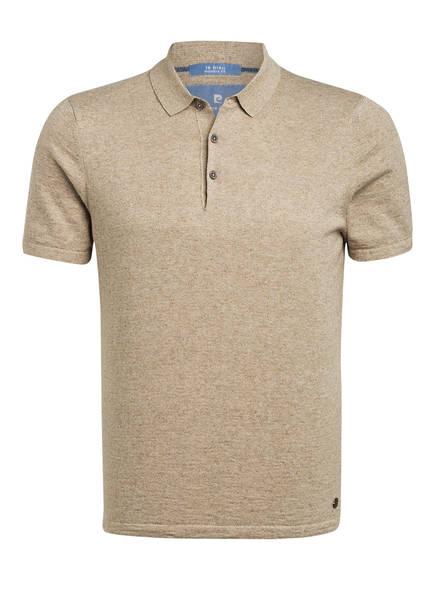 pierre cardin Jersey-Poloshirt Modern Fit , Farbe: BEIGE MELIERT (Bild 1)