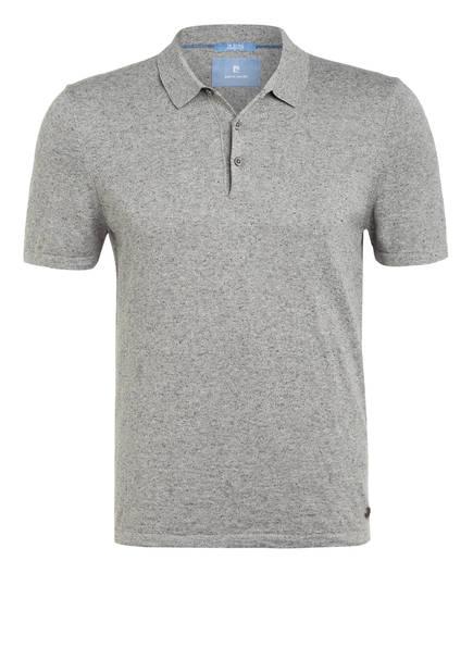 pierre cardin Jersey-Poloshirt Modern Fit , Farbe: GRAU MELIERT (Bild 1)