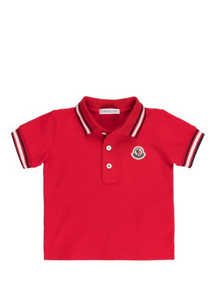 MONCLER enfant Piqué-Poloshirt, Farbe: ROT (Bild 1)