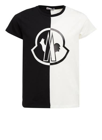 MONCLER enfant T-Shirt MAGLIA, Farbe: SCHWARZ/ CREME (Bild 1)