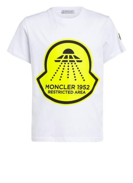 MONCLER enfant T-Shirt , Farbe: WEISS (Bild 1)