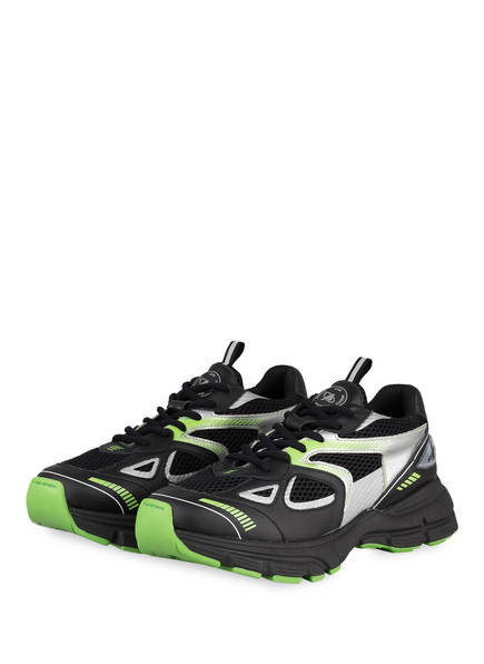 AXEL ARIGATO Sneaker MARATHON RUNNER, Farbe: SCHWARZ/ GRÜN/ SILBER (Bild 1)