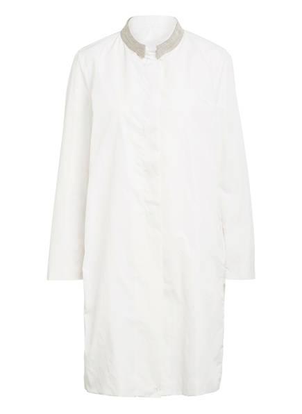 FABIANA FILIPPI Mantel mit Perlenbesatz, Farbe: CREME (Bild 1)