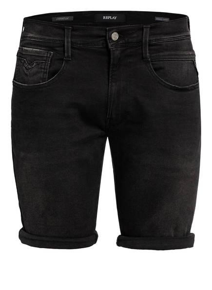 REPLAY Jeans-Shorts , Farbe: 098 BLACK (Bild 1)