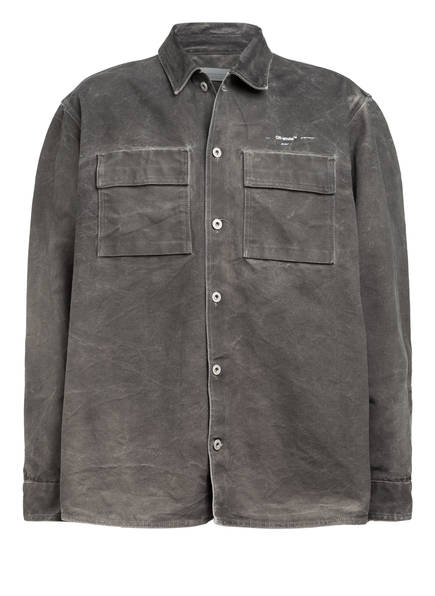 OFF-WHITE Overshirt ARROW, Farbe: GRAU (Bild 1)
