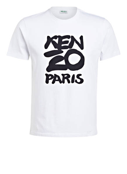 KENZO T-Shirt KENZO PARIS, Farbe: WEISS (Bild 1)