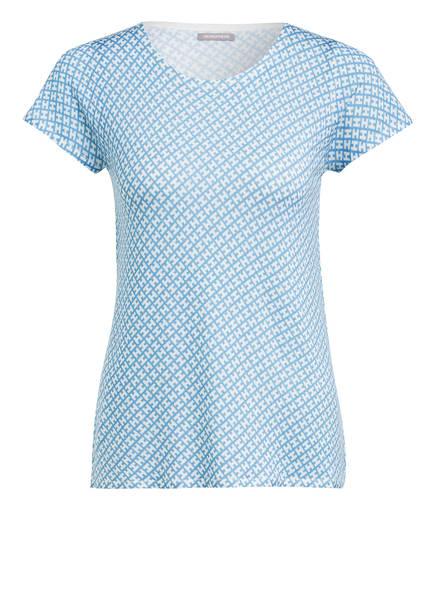 HEMISPHERE Strickshirt, Farbe: HELLBLAU/ WEISS (Bild 1)