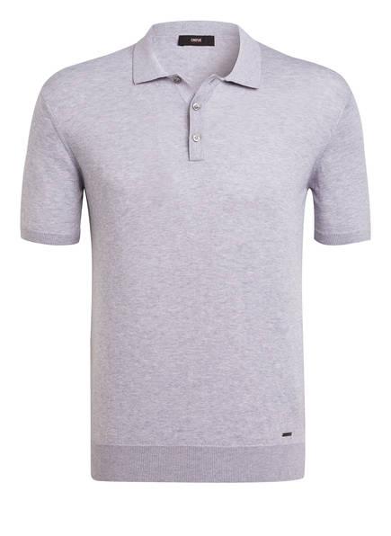 CINQUE Strick-Poloshirt CILUC, Farbe: HELLGRAU MELIERT (Bild 1)