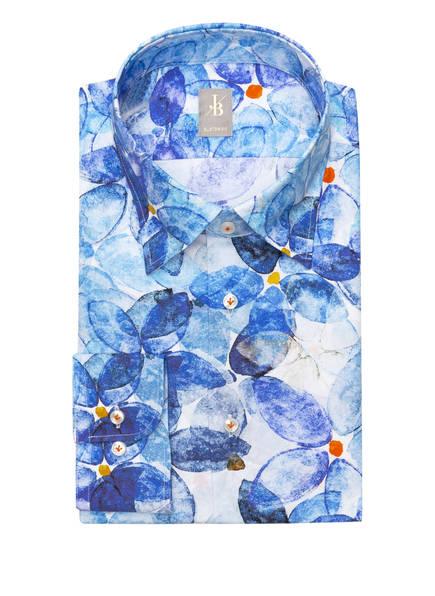 Jacques Britt Hemd MESSINA Custom Fit, Farbe: WEISS/ BLAU (Bild 1)
