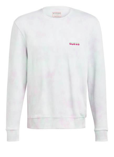 GUESS Sweatshirt, Farbe: HELLMINT/ ROSA (Bild 1)