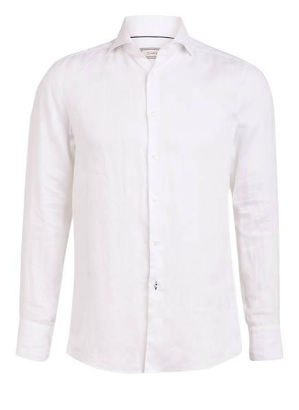 CHAS Leinenhemd Modern Fit, Farbe: WEISS (Bild 1)