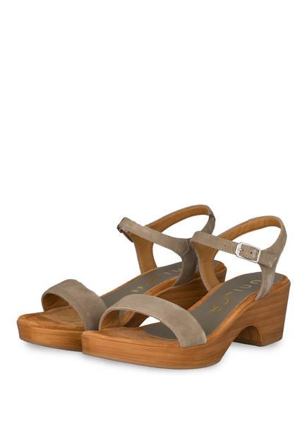 UNISA Sandaletten IRITA, Farbe: KHAKI (Bild 1)
