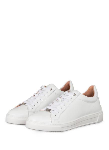 UNISA Plateau-Sneaker FLIPI mit Schmucksteinbesatz, Farbe: WEISS (Bild 1)