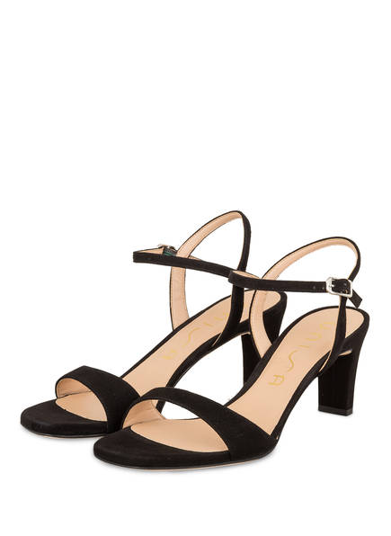 UNISA Sandaletten MECHI, Farbe: SCHWARZ (Bild 1)